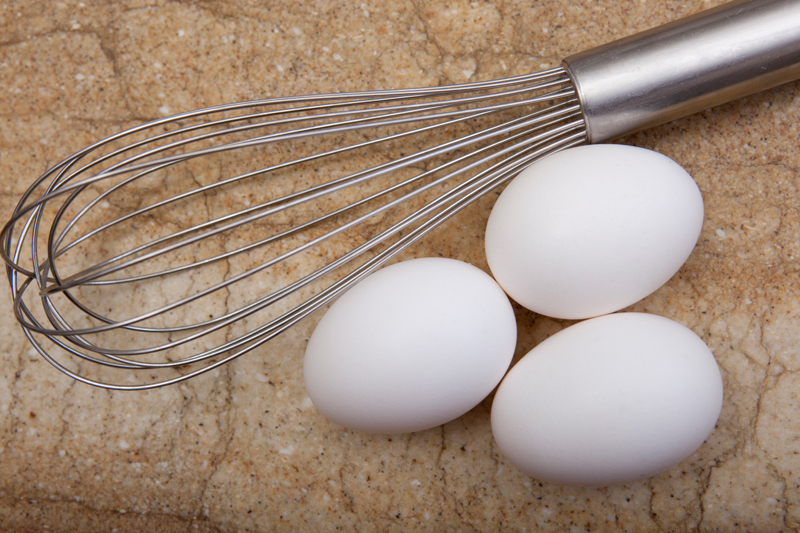 wisk detail and three eggs